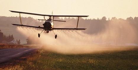 Pulvérisation de pesticides