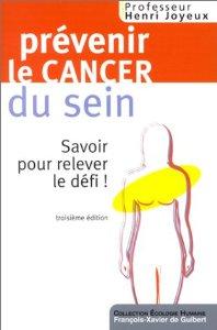 Livre Prévenir le cancer du sein