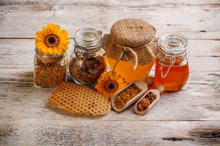 propolis, miel et produits de la ruche