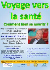 Conférence du 29 mars 2017